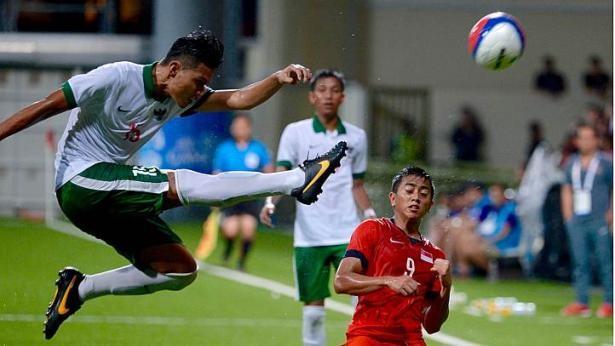 U-23 Singapore- U-23 Indonesia 0-1: Chủ nhà bị loại - ảnh 2