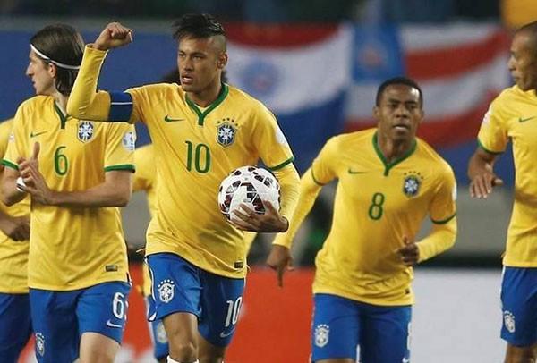 Neymar, rực sáng, Brazil