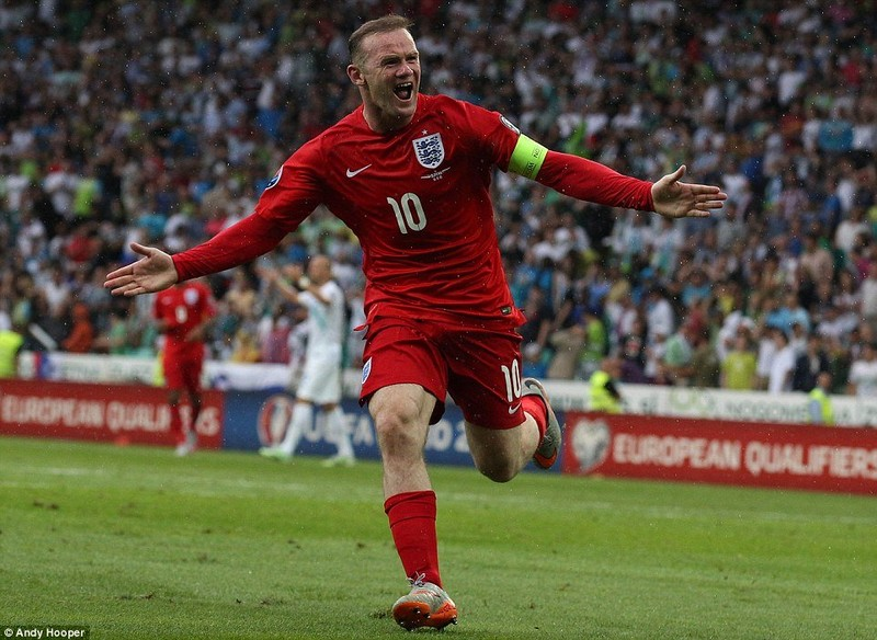 Anh, Slovenia, Rooney