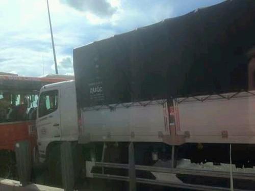 Xe mất thắng tông hàng loạt ôtô tại cao tốc Long Thành - Dầu Giây - ảnh 2