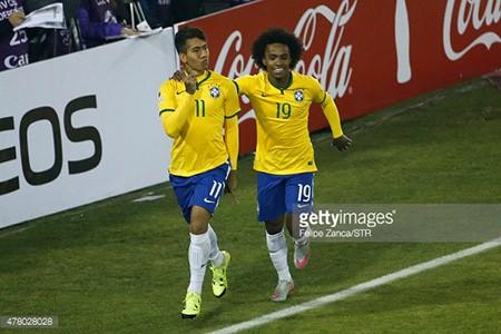 Brazil 2-1 Venezuela: Không Neymar, Brazil vẫn vào tứ kết với ngôi đầu - ảnh 3