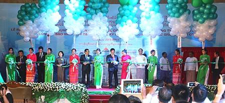 Thủ tướng dự khánh thành giai đoạn 1 dự án Myanmar Center - ảnh 1