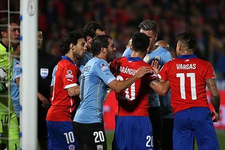 Chile 1-0 Uruguay : Chủ nhà 'đá văng' đương kim vô địch - ảnh 2
