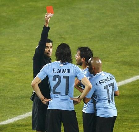 Chile 1-0 Uruguay : Chủ nhà 'đá văng' đương kim vô địch - ảnh 3
