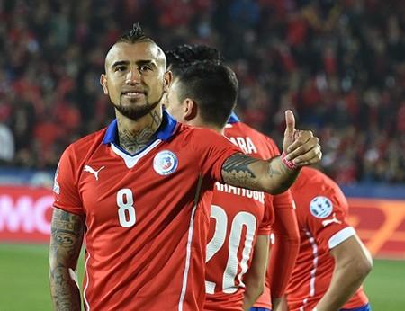 Chile 1-0 Uruguay : Chủ nhà 'đá văng' đương kim vô địch - ảnh 4