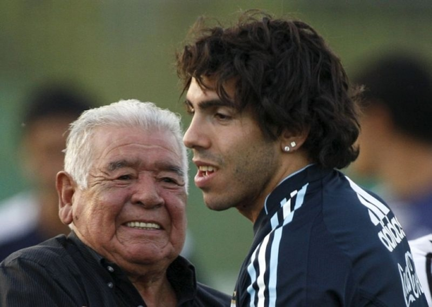 Bố của huyền thoại Maradona qua đời - ảnh 2