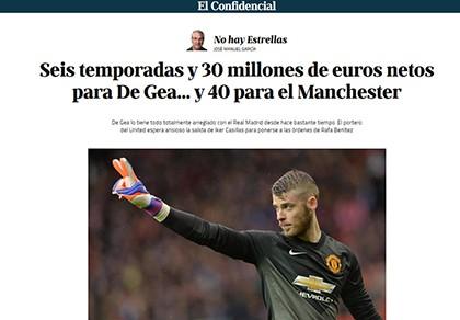 Chi 70 triệu euro, Real Madrid đã có David De Gea? - ảnh 1