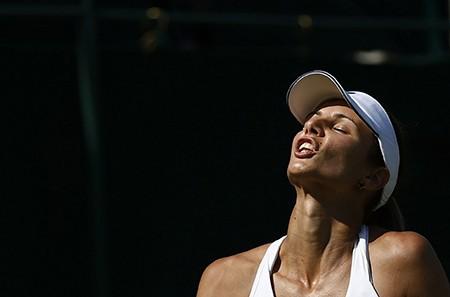Những hình ảnh ấn tượng, hài hước tại Wimbledon - ảnh 28