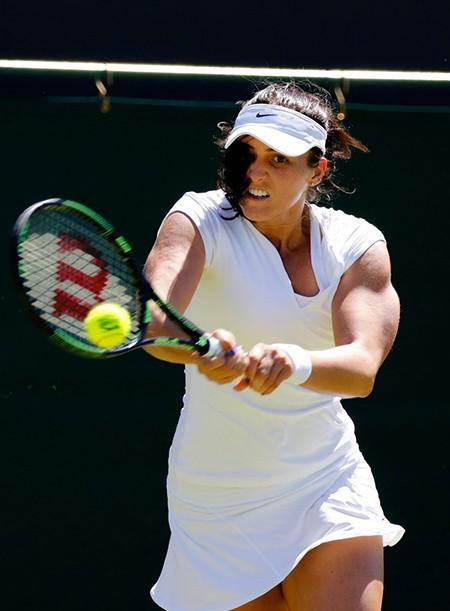 Những hình ảnh ấn tượng, hài hước tại Wimbledon - ảnh 34