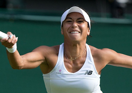 Những hình ảnh ấn tượng, hài hước tại Wimbledon - ảnh 7