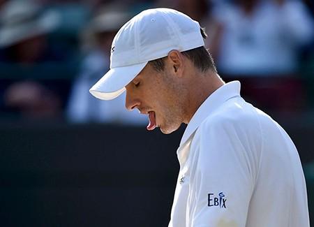 Những hình ảnh ấn tượng, hài hước tại Wimbledon - ảnh 8