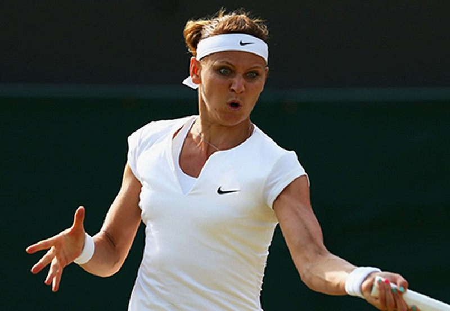 Những hình ảnh ấn tượng, hài hước tại Wimbledon - ảnh 9