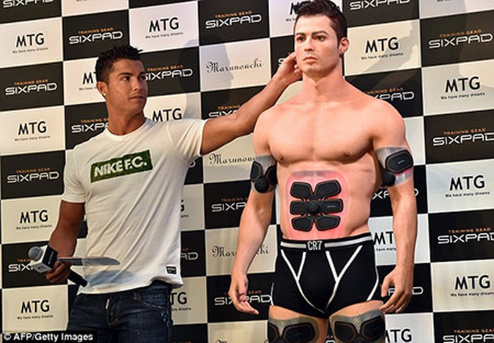 Cristiano Ronaldo và phiên bản 3D - ảnh 3