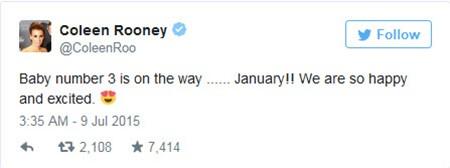 Wayne Rooney sắp đón đứa con thứ 3 - ảnh 3