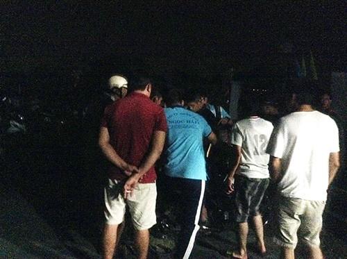 Hiện trường bắt giữ nghi can vụ thảm sát Bình Phước - ảnh 1