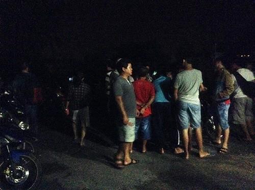 Hiện trường bắt giữ nghi can vụ thảm sát Bình Phước - ảnh 3
