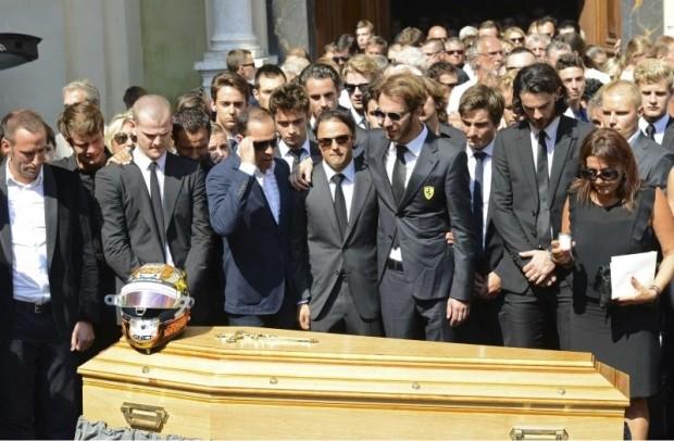 Lễ tang xúc động của tay đua F1 sinh nghề tử nghiệp - ảnh 2