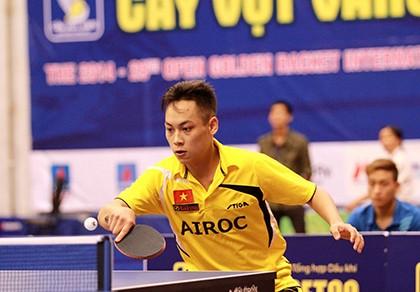 Việt Nam vào bán kết đồng đội nam giải cây vợt vàng 2015 - ảnh 1
