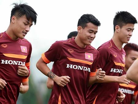 Chùm ảnh cầu thủ Việt Nam, Man City tập luyện cho trận đấu tối nay - ảnh 9