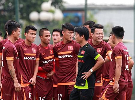 Chùm ảnh cầu thủ Việt Nam, Man City tập luyện cho trận đấu tối nay - ảnh 7