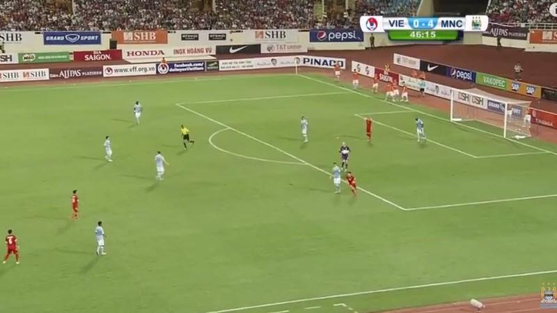 Việt Nam 1–8 Man City: Bài học quý từ một trận giao hữu - ảnh 9
