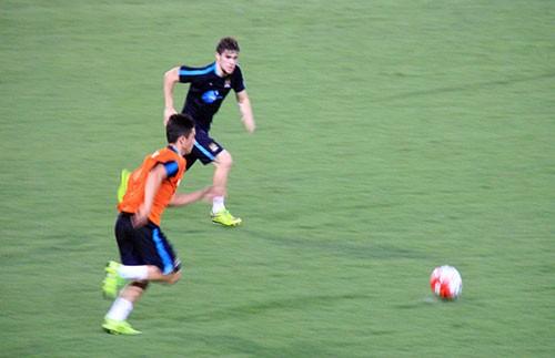 Chùm ảnh cầu thủ Việt Nam, Man City tập luyện cho trận đấu tối nay - ảnh 16