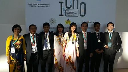Việt Nam giành một huy chương vàng Olympic hóa học quốc tế - ảnh 2