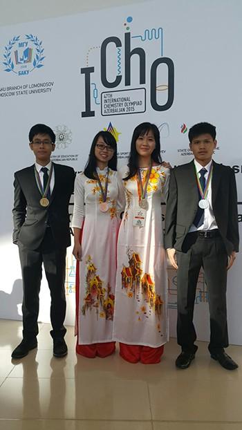 Việt Nam giành một huy chương vàng Olympic hóa học quốc tế - ảnh 1