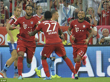Bayern 5-0 Hamburg: 'Hùm xám' ra oai ngày khai mạc - ảnh 3