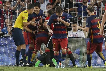 Barcelona 1-1 Bilbao: Vỡ mộng 'ăn 6' - ảnh 2