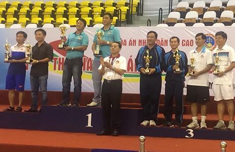 TP.HCM giành giải nhất toàn đoàn tại Đại hội thể thao TAND - ảnh 1