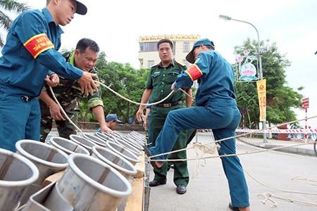 Cận cảnh giàn pháo hoa trước giờ khai hỏa mừng Quốc khánh 2/9 - ảnh 4