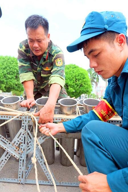 Cận cảnh giàn pháo hoa trước giờ khai hỏa mừng Quốc khánh 2/9 - ảnh 7