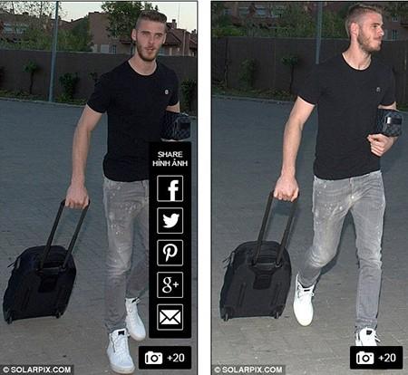 Không thể rời M.U, De Gea cười gượng gạo trở về Madrid - ảnh 5