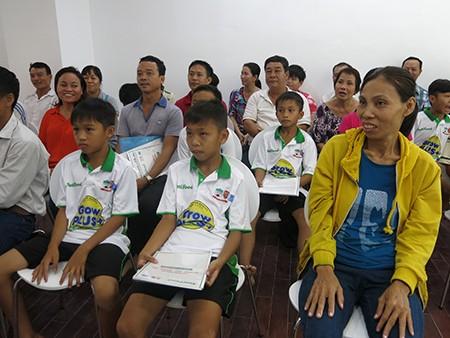 Học viện bóng đá NutiFood đã khai giảng khóa đầu tiên - ảnh 2