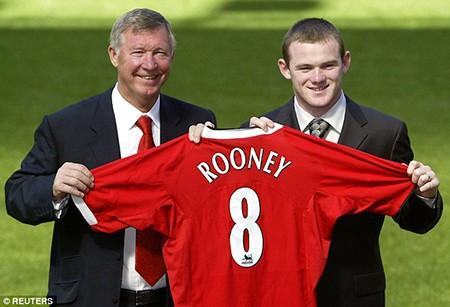 Sir Alex Ferguson tiết lộ Rooney 2 lần từ chối M.U - ảnh 1