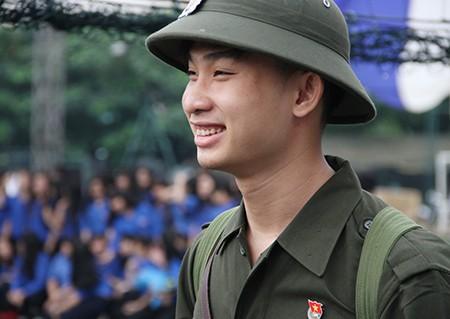TP.HCM: Hơn 1.200 thanh niên tình nguyện nhập ngũ  - ảnh 22