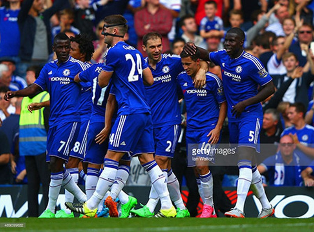 Chelsea 2-0 Arsenal : 'Pháo thủ' sụp đổ vì hai chiếc thẻ đỏ - ảnh 4