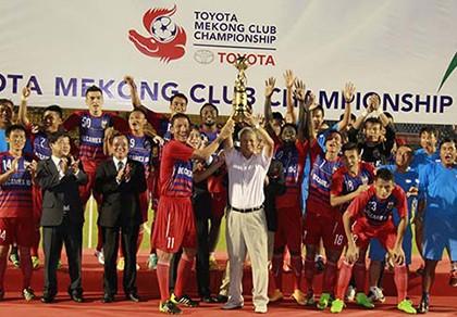 Toyota Mekong Cup 2015: Thách thức từ nhà vô địch Thai-League - ảnh 1