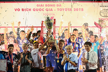 B.Bình Dương vô địch V-League: Thành quả từ lao động cật lực - ảnh 4