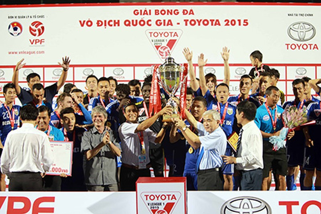 B.Bình Dương vô địch V-League: Thành quả từ lao động cật lực - ảnh 5