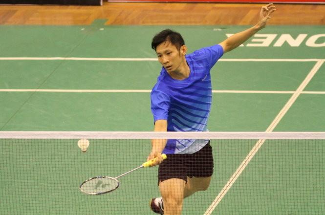 Tay vợt Nguyễn Tiến Minh. Ảnh: T.P