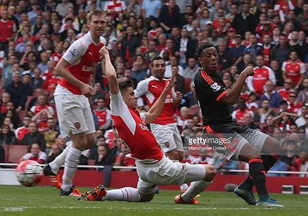 Arsenal 3-0 M.U: 'Pháo thủ' bắn nát bầy 'quỷ đỏ' - ảnh 2