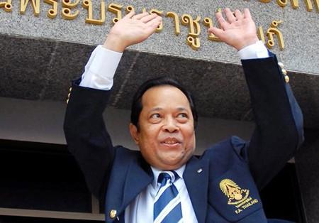 Thái Lan lên tiếng vụ chủ tịch LĐBĐ bị đình chỉ công việc - ảnh 1