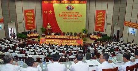 Đại hội đại biểu Đảng bộ tỉnh Hậu Giang không nhận hoa chúc mừng - ảnh 1
