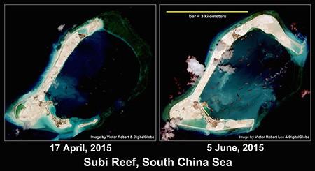 Mỹ đang thách thức Trung Quốc ở biển Đông - ảnh 2