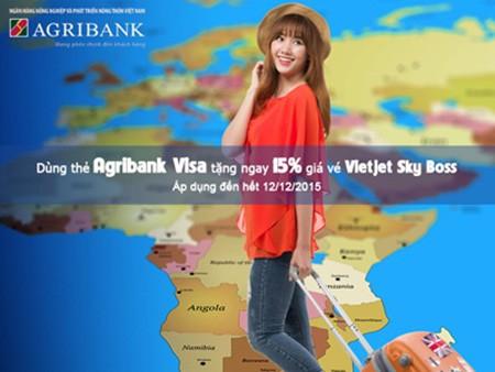 Nhiều ưu đãi cho chủ thẻ Agribank - ảnh 2