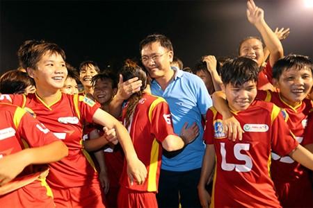 Giải bóng đá nữ Quốc tế TP.HCM mở rộng - ảnh 1