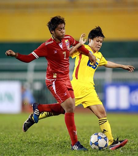 Đội nữ TP.HCM vô địch giải bóng đá quốc tế mở rộng - ảnh 1