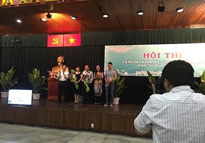 UBND TP thắng lớn hội thi karaoke công nhân, viên chức - ảnh 1